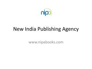 NEW INDIA PIBLISHING AGENCY