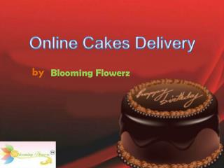 Online Send Cakes Delivery In India - Blooming Flowerz