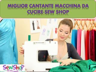 Miglior Cantante macchina da cucire-SEW SHOP