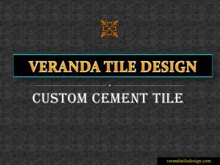 Custom Cement Tile