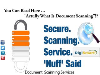 Document Scanning Services in Pune
