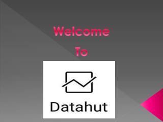 Datahut - Web Crawling Services