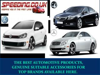 Car accessories online only at Speeding.co.uk