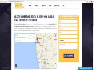 Packers and Movers in Nerul (Navi Mumbai)- All City Packer & M�