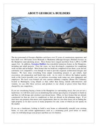 Custom Home Builders Hampton