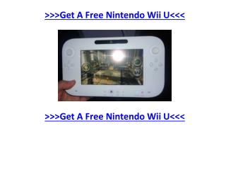 The Best Website to Get A Free Nintendo Wii U