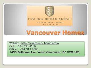 Canada real estate properties