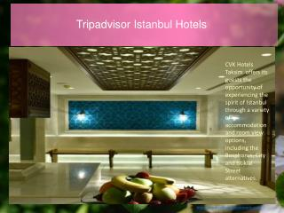 Istanbul luxury hotels | Luxury stay in Istanbul