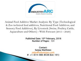 Animal Feed Additives Market draws a healthy amount of market share from the Cattle Feed market segment globally.