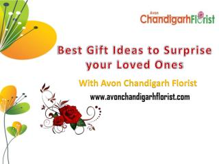 Best Gift Ideas to Surprise your Loved Ones in Chandigarh
