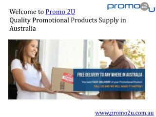 Quality Promotional Products Supply in Australia