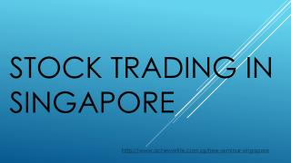 STOCK TRADING IN SINGAPORE