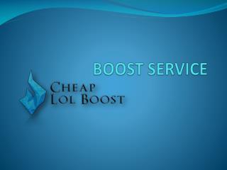 boost service