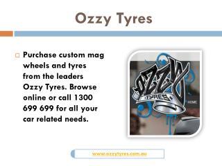 Cheap Tyres Sydney | Ozzy Tyres
