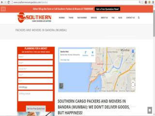 Southern Cargo Packers and Movers in Bandra (Mumbai): We don't deliver goods, but happiness!