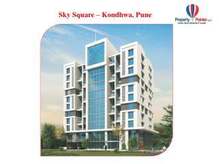 Sky Square by Ravinanda Landmarks in Kondhwa Pune - 8888292222