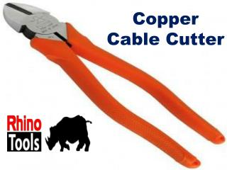 Want Different Copper Cable Cutter