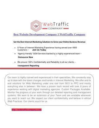 Digital Marketing & web Development