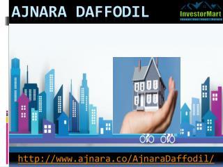 Ajnara Daffodil Has More Facility And Amenities