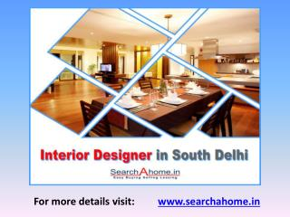 Interior Designers in South Delhi