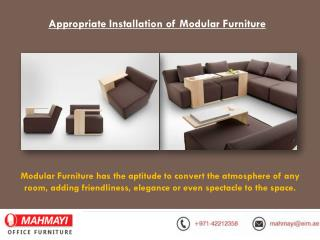 Modular Office Furniture Manufacturers in Dubai