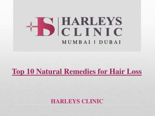 Top 10 Natural Remedies for Hair Loss