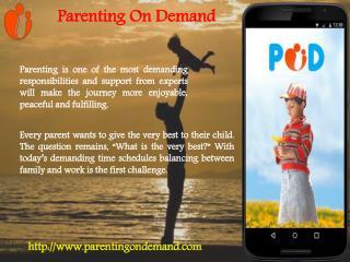 Online Parenting Adviser Service
