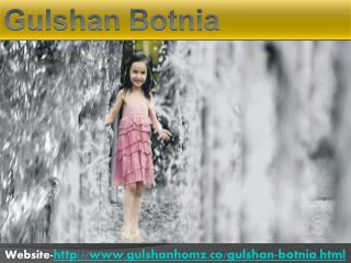 Gulshan Botnia Best Floor Plan