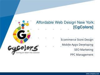 Professional Web Design New York
