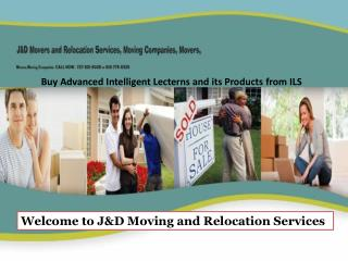 Welcome to J&D Moving and Relocation Services