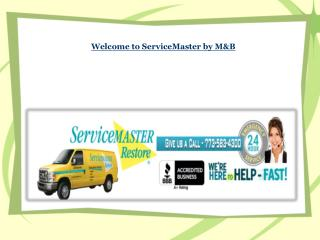 Welcome to ServiceMaster by M&B