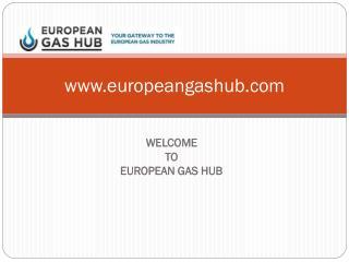 European Gas Hub - Online Information Platform