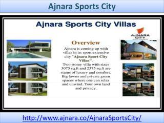Ajnara Sports City Has Attractive Facility