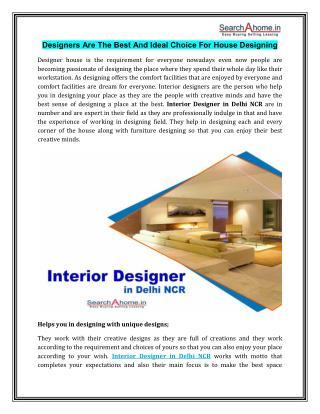 Interior Designer in Delhi NCR