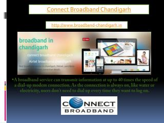 connectc broadband chandigarh
