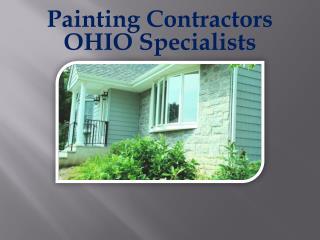 Painting Contractors OHIO Specialists