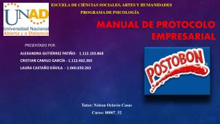 Manual de Protocolo empresarial
