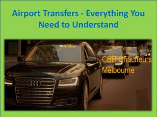 Airport Transfers - Everything You Need to Understand