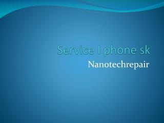 service I phone sk