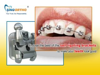 Buy the good quality Ceramic Self-ligating Brackets orthodontic products in China