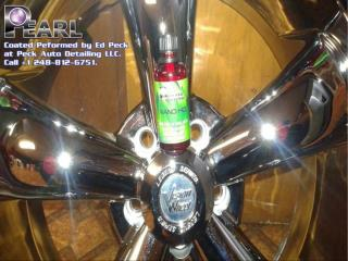 super-hydrophobic auto body coating of Pearl Products