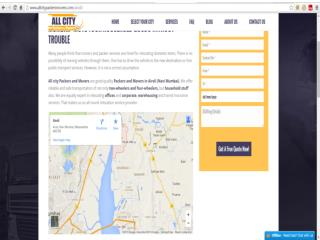 Packers and Movers in Airoli (Navi Mumbai)- All City Packers & Movers®
