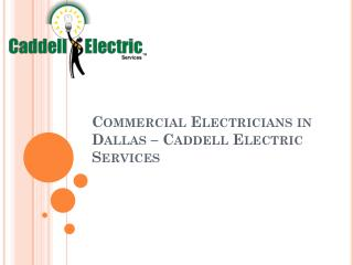 Electrician Dallas