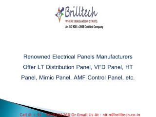 Electrical Panel Manufacturers Delhi