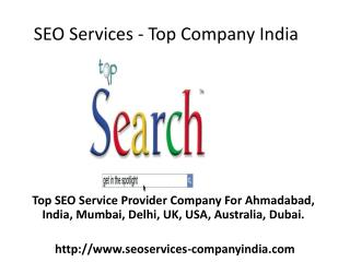 SEO Services - Top Company India