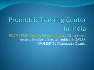 Prometric Training Center In India