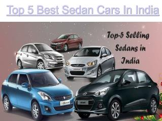 Check Out the Best Sedan in India 2016