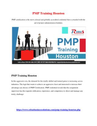 PMP Training Houston