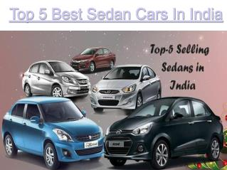 5 Best Sedan Cars in India 2016