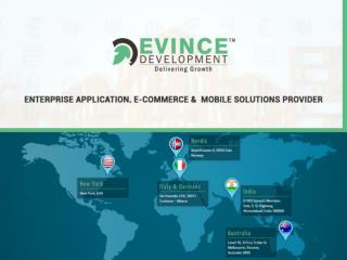 Web Design and Development, Mobile Application Development Company| Evincedev Development